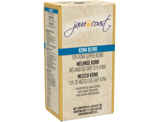 Java Coast Kona Blend Concentrated Liquid Coffee, 2 Liter -- 2 per case.