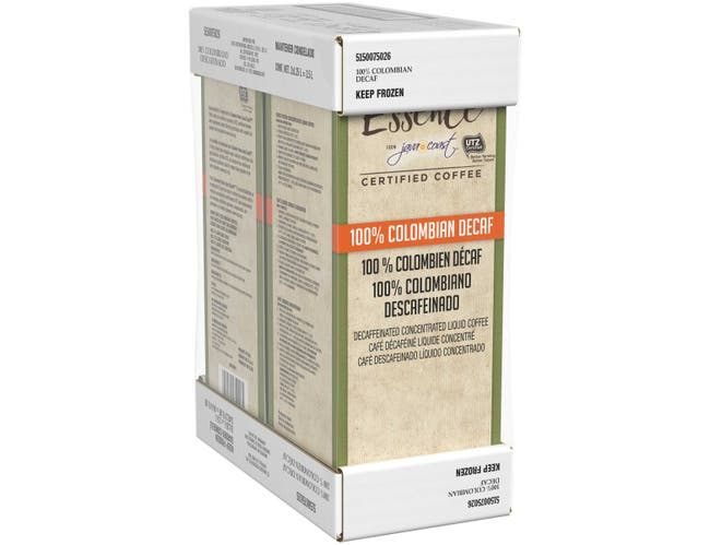 Java Coast 100 Percent Colombian Decaf Concentrated Liquid Coffee, 1.25 Liter -- 2 per case.