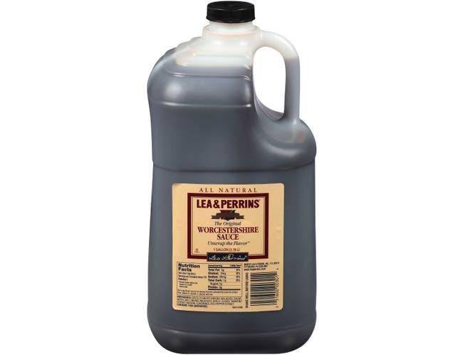 Lea & Perrins Worcestershire Sauce 3 Case 1 Gallon