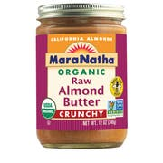 Maranatha Organic Roasted Crunchy Almond Butter, 12 Ounce -- 6 per case.
