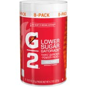 Gatorade G2 Perform Fruit Punch Sports Drink Powder, 4.2 Ounce -- 8 per case.