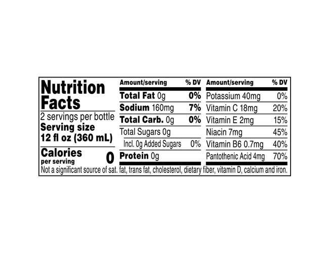 Propel Zero Mandarin Orange Fitness Water, 24 Fluid Ounce -- 12 per case.