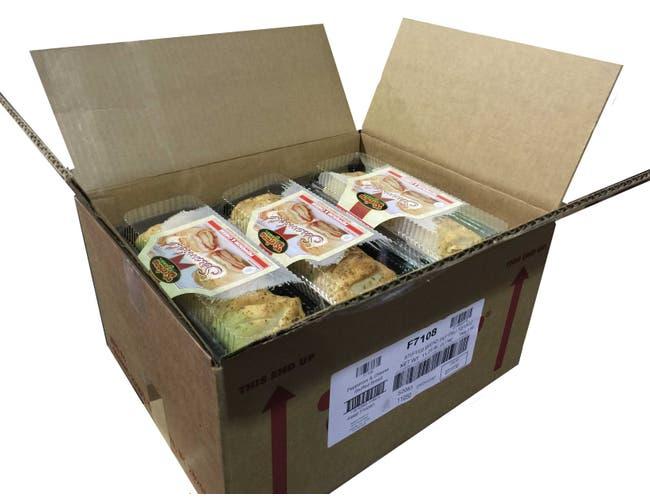 Stefano Italian Pepperoni and Cheese Stuffed Bread, 15 Ounce -- 12 per case.