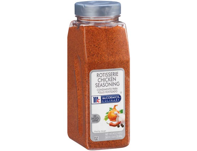 McCormick Culinary Rotisserie Chicken Seasoning, 24 oz. -- 6 per case