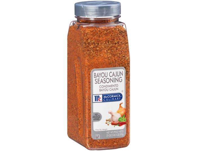 McCormick Culinary Bayou Cajun Seasoning, 21 oz. -- 6 per case