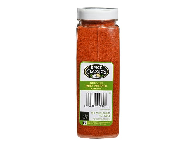 Spice Classics Ground Red Pepper, 14 Ounce -- 6 per case.