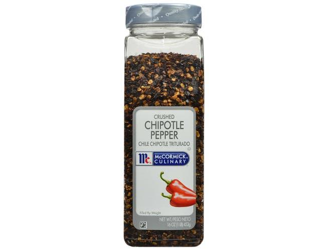 McCormick Culinary Crushed Chipotle Pepper, 16 oz. -- 6 per case