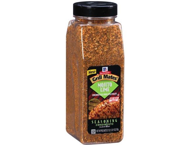 McCormick Grill Mates Mojito Lime Seasoning, 27 Ounce  -- 6 per case.