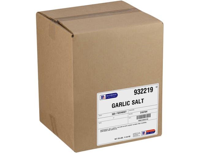 McCormick Culinary Garlic Salt, 25 lbs. -- 1 each