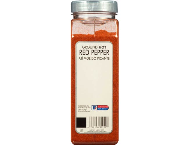 McCormick Culinary Hot Ground Red Pepper, 14 oz. -- 6 per case