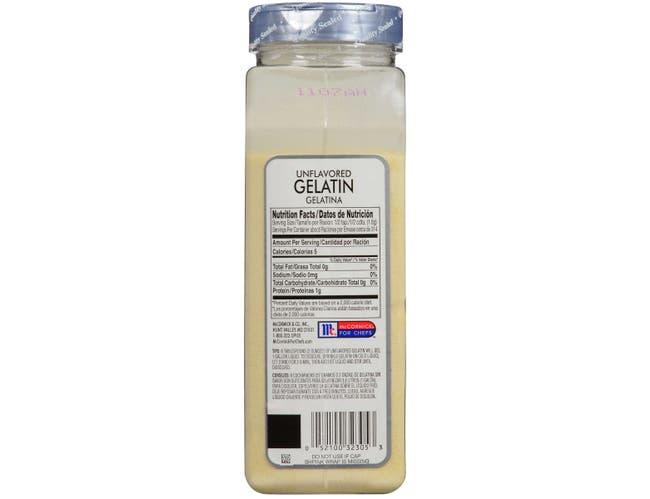 McCormick Culinary Unflavored Gelatin, 20 oz. -- 6 per case