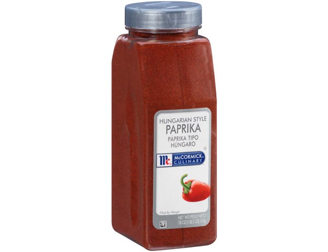 McCormick Culinary Hungarian Style Paprika, 18 oz. -- 6 per case