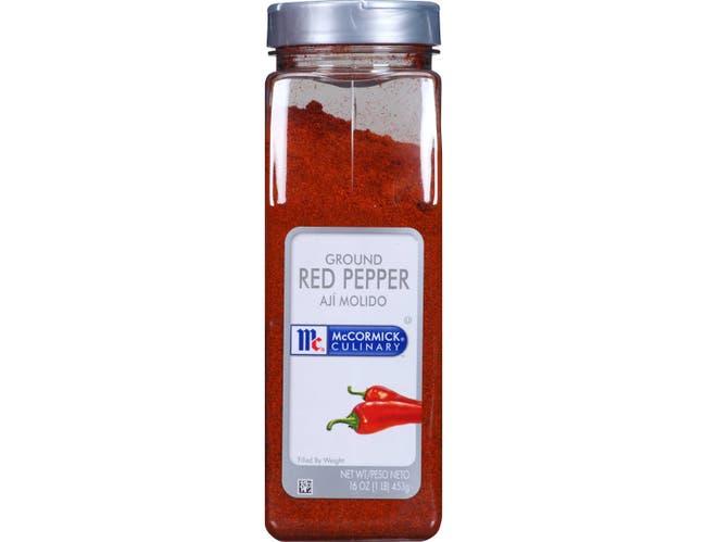 McCormick Culinary Ground Red Pepper, 16 oz. -- 6 per case