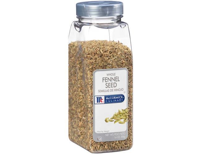 McCormick Culinary Whole Fennel Seed, 14 oz. -- 6 per case