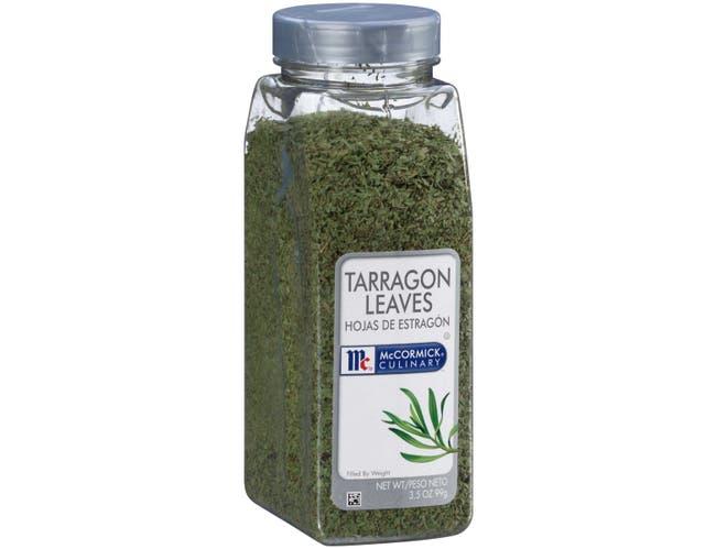 McCormick Culinary Tarragon Leaves, 3.5 oz. -- 6 per case