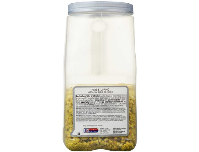 McCormick Culinary Herb Stuffing, 37 oz. -- 3 per case