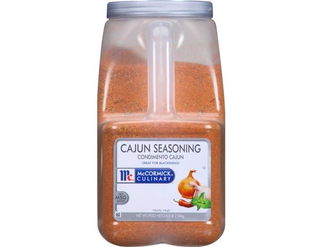 McCormick Culinary Cajun Seasoning, 6.5 lbs. -- 3 per case