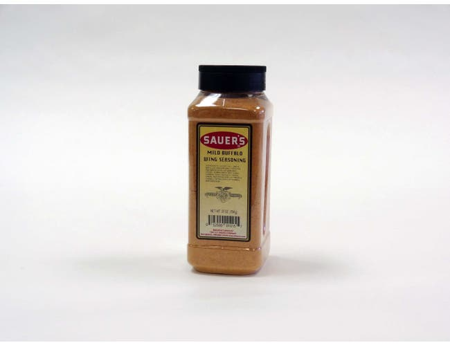 Sauer Mild Buffalo Wings Seasoning, 28 Ounce -- 6 per case.
