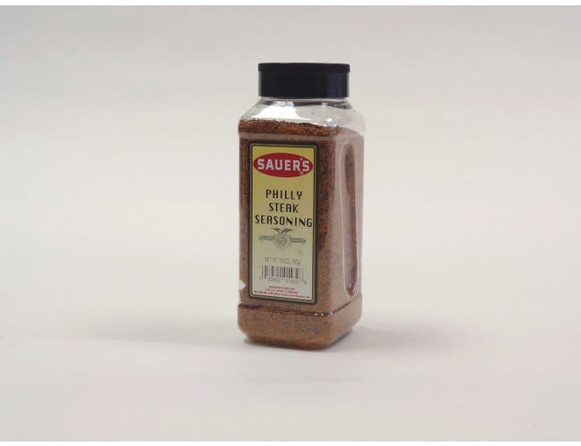 C.F. Sauer Foods Philly Steak Seasoning, 19.5 Ounce -- 6 per case.