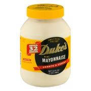 Dukes Mayonnaise, 32 Fluid Ounce -- 12 per case.