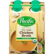 Pacific Organic Free Range Low Sodium Chicken Broth, 32 Fluid Ounce -- 6 per case.