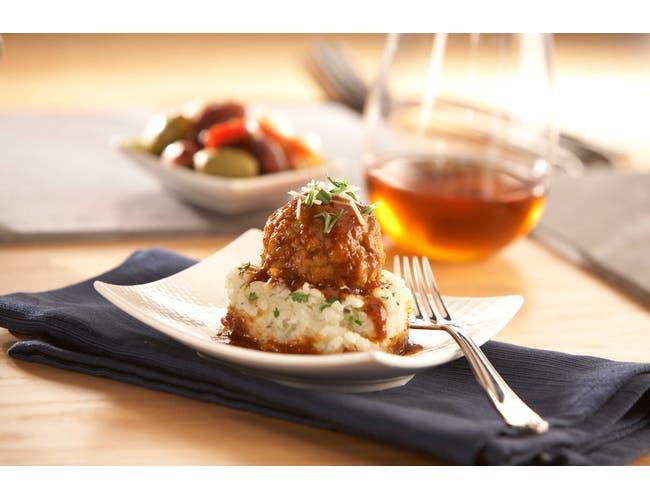 Rosina Floresta Chicken and Beef Meatballs, 5 Pound -- 2 per case.