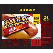 Ball Park Beef Franks, 2.811 Pound -- 9 per case.
