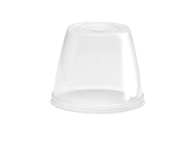 WNA XL Dish Lid Only, 6/8 Ounce -- 500 per case.