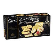 Cracker Keebler Carrs Assorted Biscuit Cheese 12 Case 7.5 Ounce
