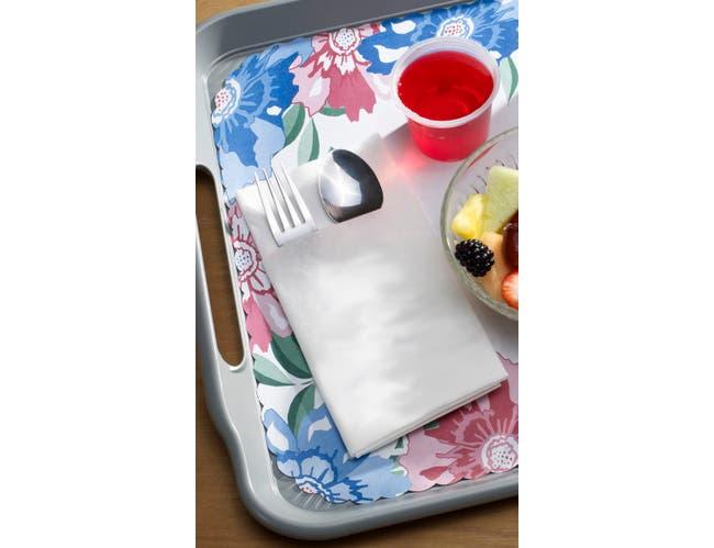 Lapaco 2 Ply White Pocket Fold Dinner Napkin -- 1500 per case.