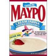 Homestate Farms Maypo Cream Farina Oatmeal Cereal, 28 Ounce -- 12 per case.