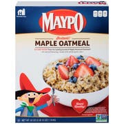 Homestate Farms Instant Maple Flavor Maypo Oatmeal Cereal, 42 Ounce -- 8 per case.