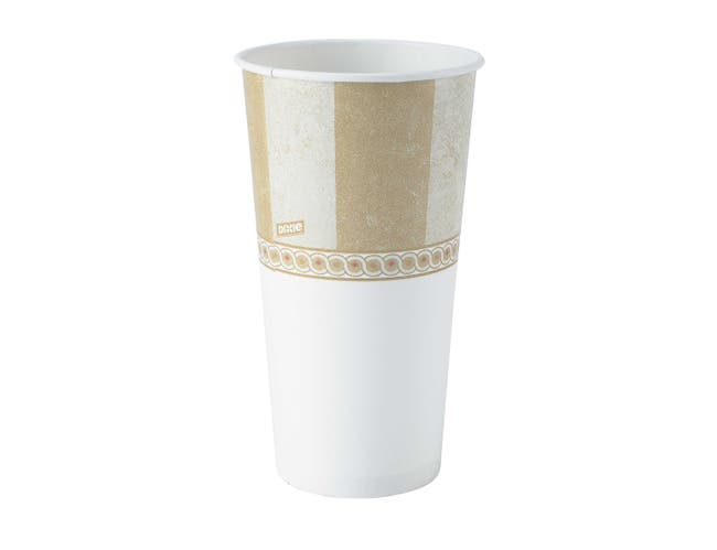 Dixie EcoSmart Viridian PLA Paper Hot Cup, 20 Ounce -- 600 per case.