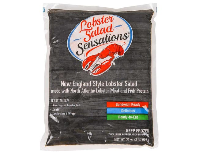 King and Prince Sensations Lobster Salad, 2 Pound -- 6 per case