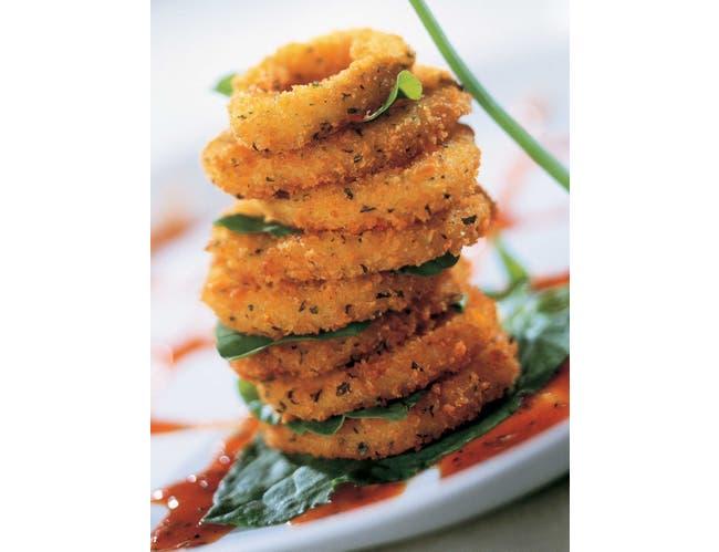 Mrs Fridays Italian Breaded Calamari Ringer, 2 Pound -- 6 per case.