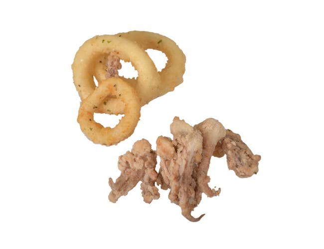 Mrs Fridays Breaded and Tentacle Calamari Ring, 2.25 pound -- 6 per case.