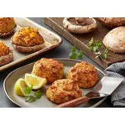 Phillips Tavern 3 Ounce Crab Cakes, 6 per tray -- 4 trays per case