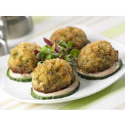 Phillips Seafood Chesapeake Crab Cake, 0.75 ounce -- 100 per case