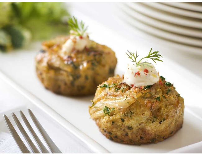 Phillips Seafood Chesapeake Crab Cake, 2 ounce -- 24 per case