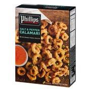 Phillips Retail Salt and Pepper Calamari, 10 Ounce -- 12 per case.