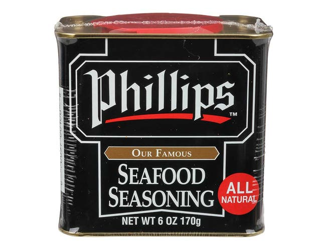 Phillips Seafood Seasoning, 6 ounce can -- 12 per case