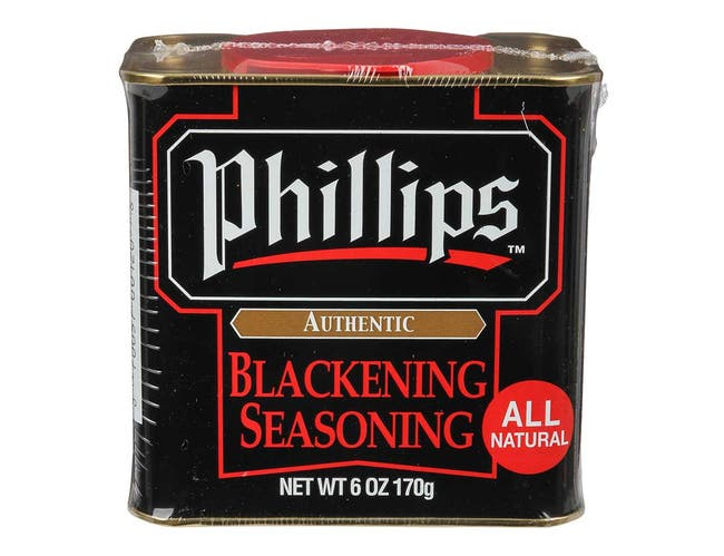 Phillips Blackening Spice, 6 ounce can -- 12 per case