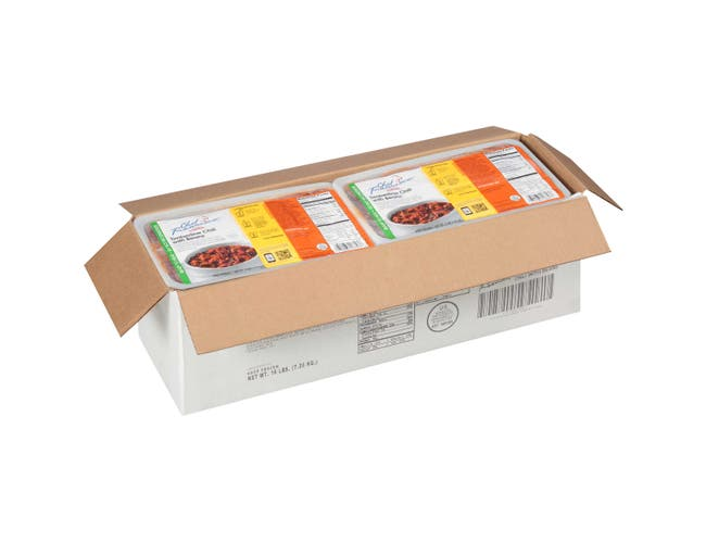 Chef Francisco Timberline Chili with Beans - 4 lb. tub, 4 per case