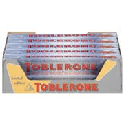 Toblerone Snow Top Swiss Milk and White Chocolate Bar, 3.52 Ounce -- 80 per case