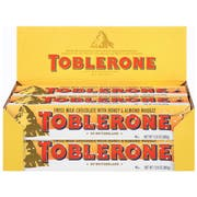 Toblerone Swiss Milk Chocolate Bar, 12.6 Ounce -- 20 per case