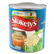 Stokelys Fancy Sauerkraut - no. 10 can, 6 cans per case.