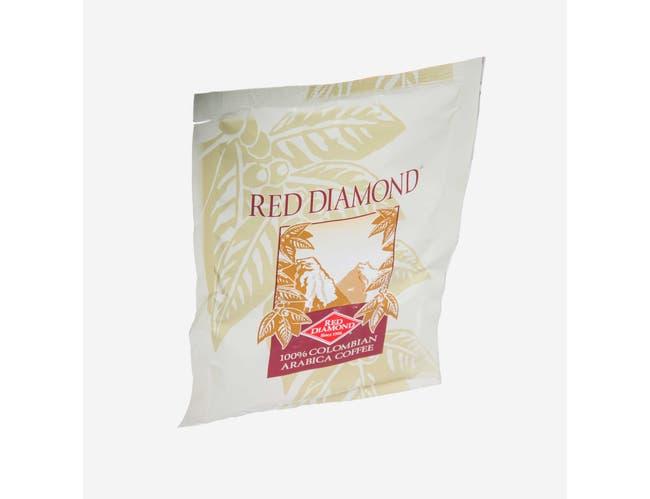 Red Diamond 100 Percent Columbian Coffee, 2.25 Ounce -- 48 per case.