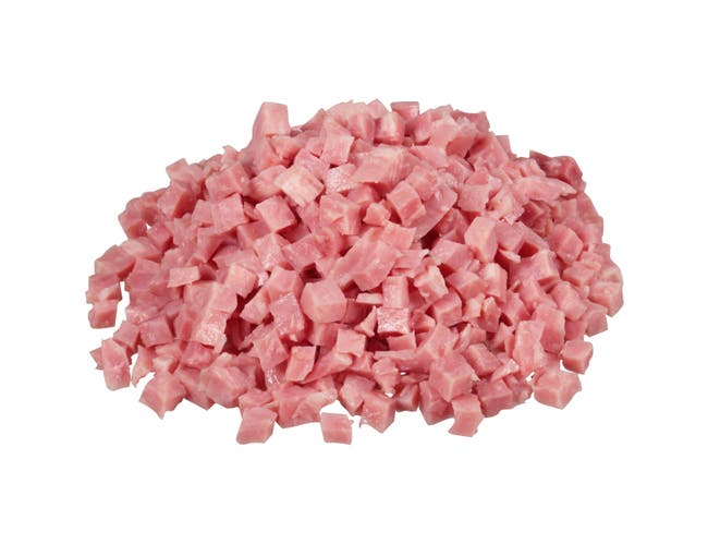 Farmland Water Added Smoked Diced Ham, 1/4 inch Cube -- 2 per case.