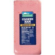 Farmland Water Added Premium Deli Cooked Ham, 4 x 6 inch -- 2 per case.