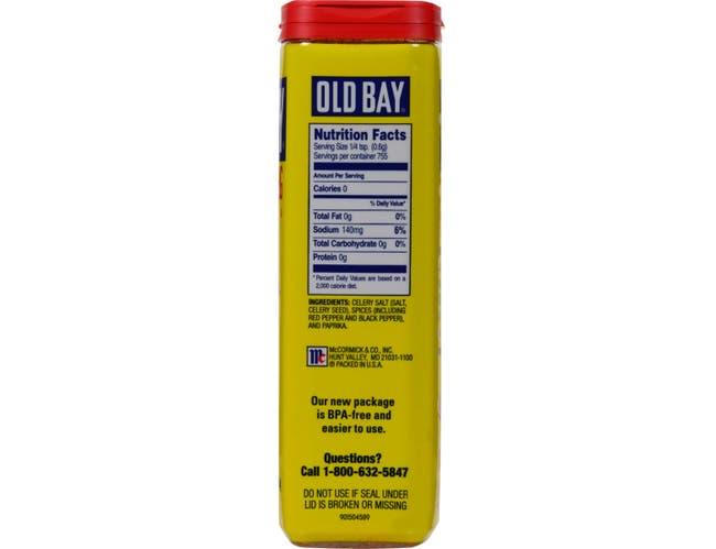 OLD BAY Seasoning, 1 lb. tin -- 12 per case